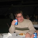 Jon Collins Drinks Pepsi (R)