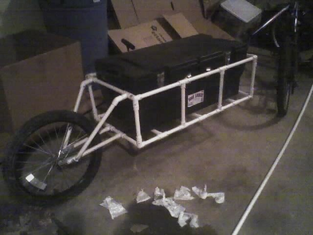 Self Built Bike Trailers A Gallery On Flickr