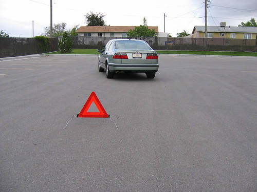 Safety Triangle Included