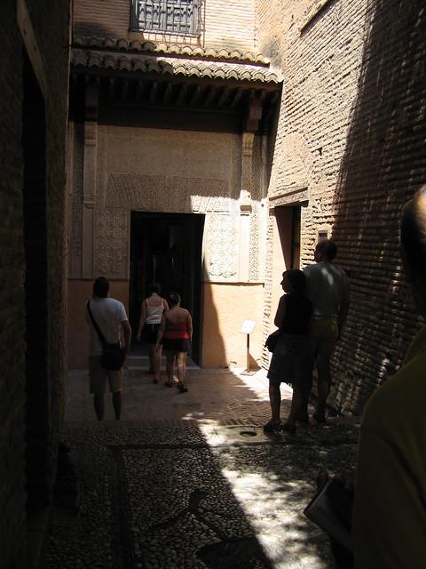 The Alhambra - Palacios Nazaríes - Entrance