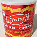 Fritos Corn Chips Can, 1967