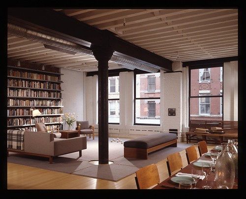 John curran 39 s new york loft the mid century modernist for Idee deco loft new yorkais