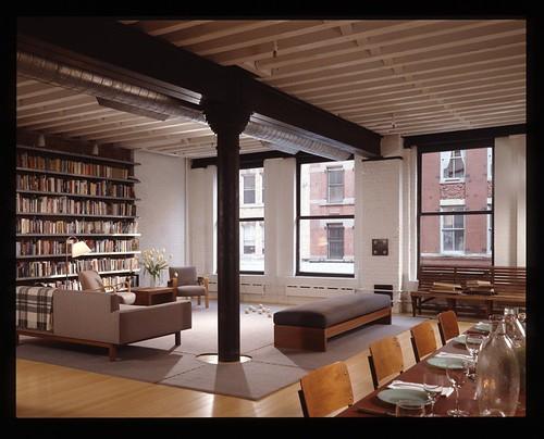 john curran 39 s new york loft the mid century modernist. Black Bedroom Furniture Sets. Home Design Ideas