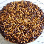 Haselnuss- und Schokoladenkuchen