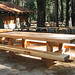 Yosemite Falls Trail Picnic Table
