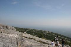 Atop Mt. Monadnock