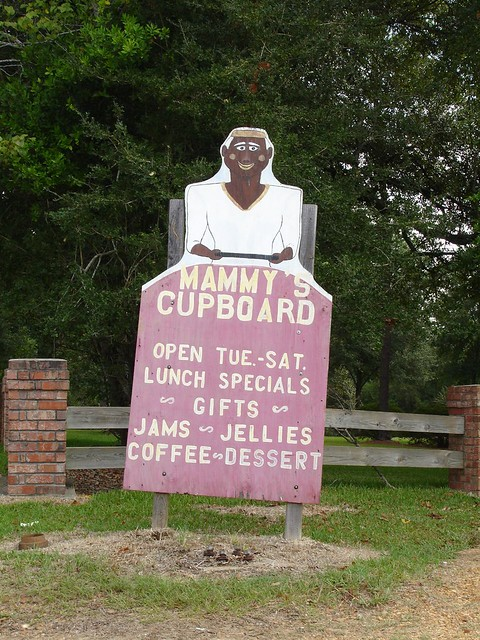Mammy's Cupboard Sign, Natchez MS