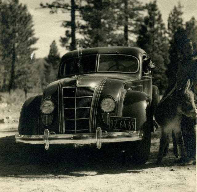 Old Car 1935 DeSoto
