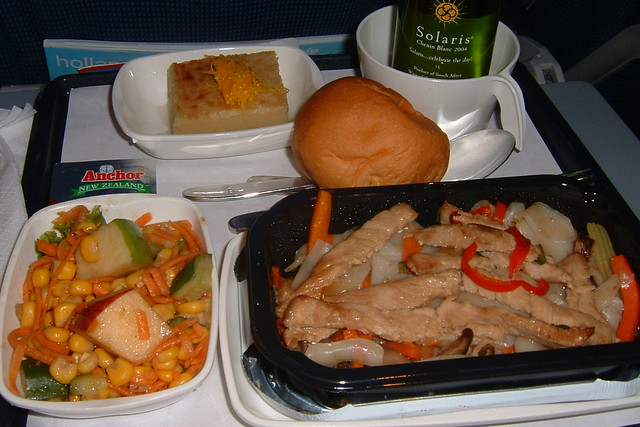 Klm Economy Class Dinner Flickr Photo Sharing