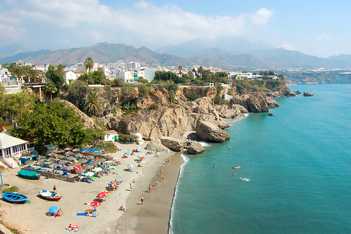 Nerja playa east
