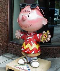 Charlie Brown: Sunburned Charlie