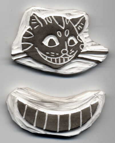 Cheshire Cat Stamps