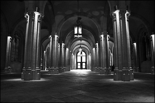 Hall of University Central - Barcelona