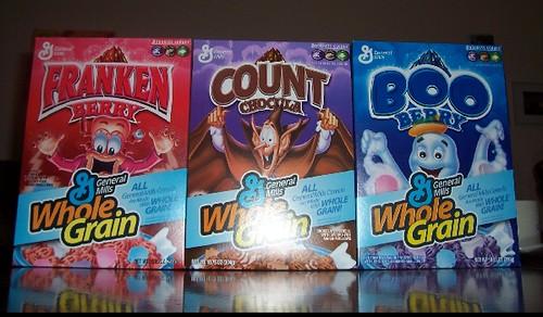 halloween cereal