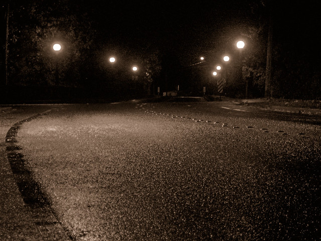Midnight Autumn Rain Flickr Photo Sharing