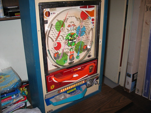 japanese pachinko parts machine