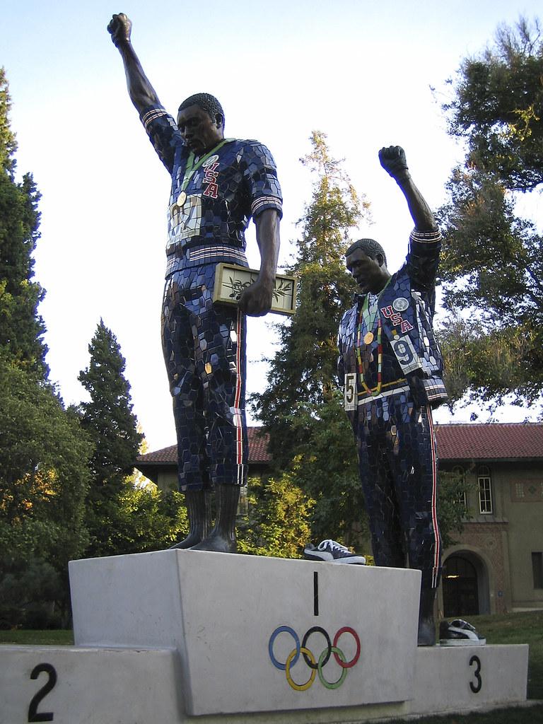 Tommie Smith, John Carlos Statue
