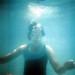 Small photo of Ruth underwater