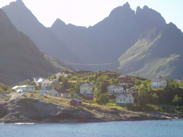 View from A, Lofotens