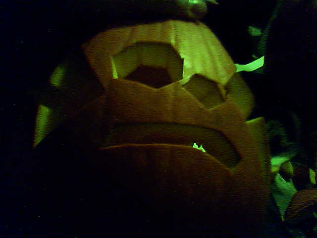 This is also my jack o'lantern.