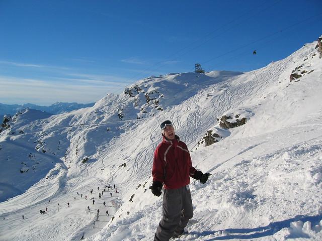 Snowboarding Dootchy