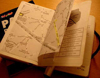 the moleskine as a travel guidebook