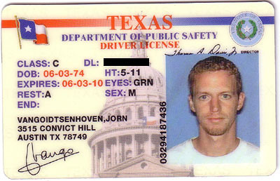 Texas drivers license car interior design for Interior decorator license texas