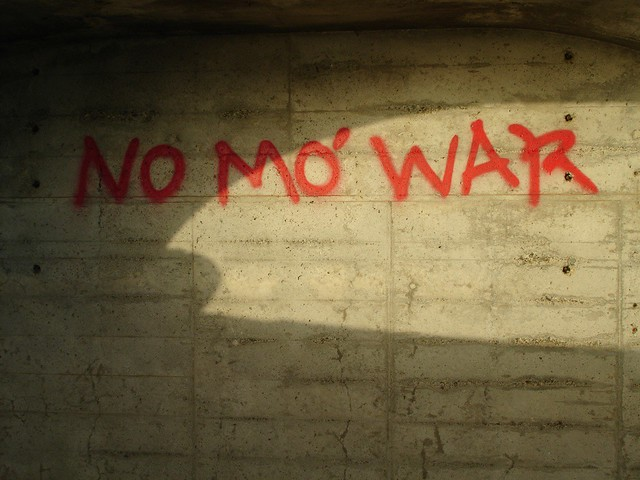 No Mo' War