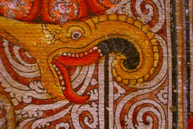 Tibetan mandara closeup