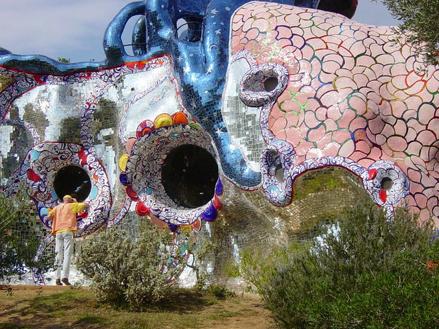 Tarot Garden Niki De Saint Phalle Flickr Photo Sharing