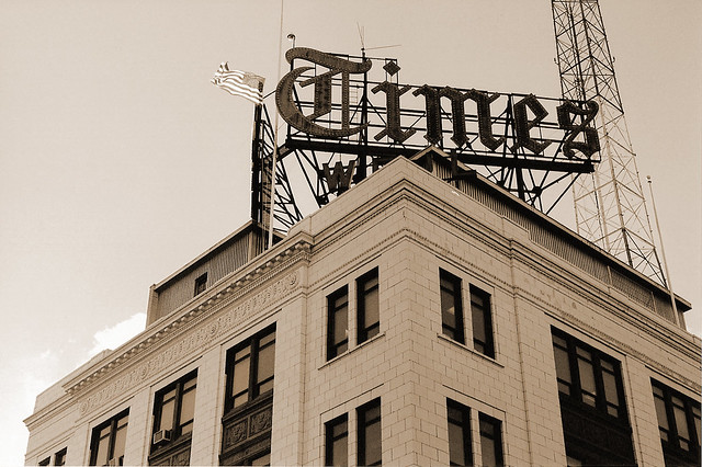 Scranton Times Building (film shot: Pentax K-1000)