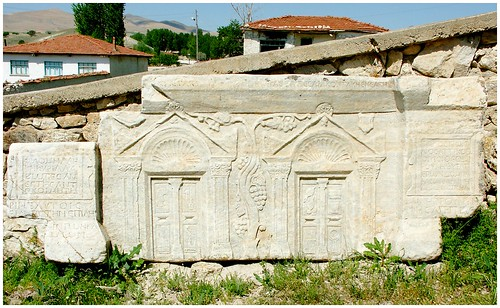 Byzantine tombstone, Ancient city of Pessinus (now Ballihisar)