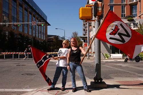 KKK supporters