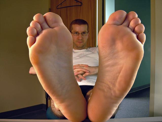 Mature Mens Foot Disease