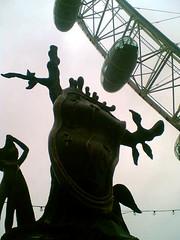 Dali and London Eye