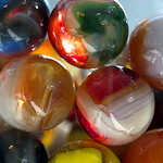 Dramatic Light Through Dramatic Marbles