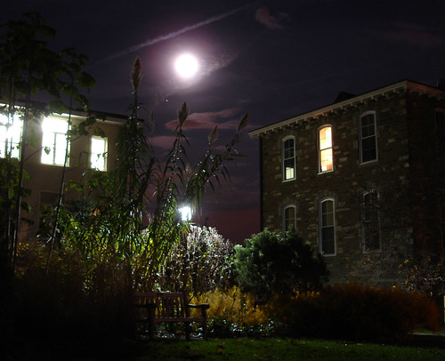 swarthmore swarthmorecollege night moon