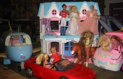 Barbie Toy House Tour