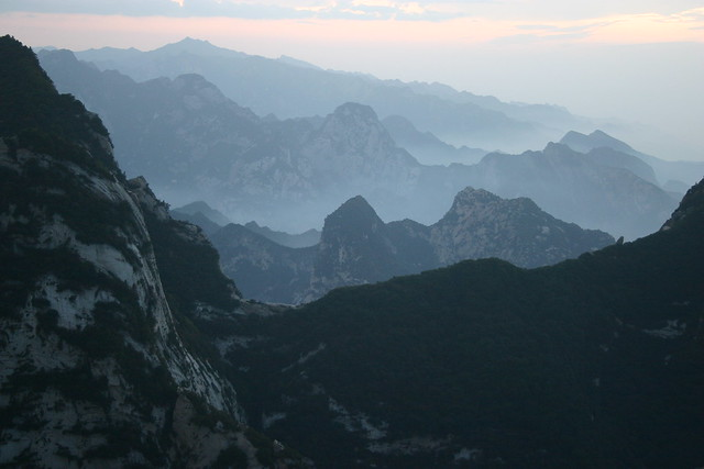 Mount Huashan - Flickr CC avernet