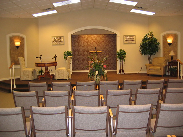 West Asheville Kingdom Hall View Of The Inside By