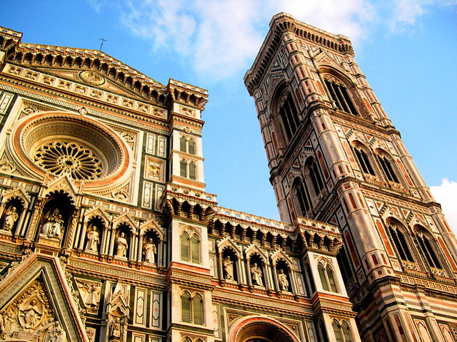 The Campanile Di Giotto - Florence