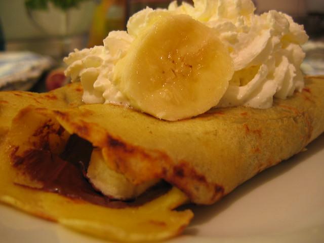 nutella and banana crepes | Flickr - Photo Sharing!