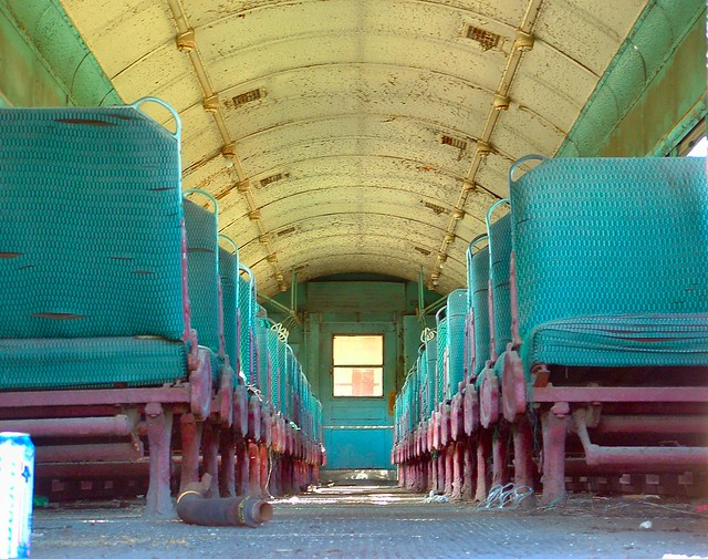 Bygone Era | Inside an old passenger train at the Union ...