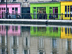 Strolling along canal St Martin, Paris by Julie70