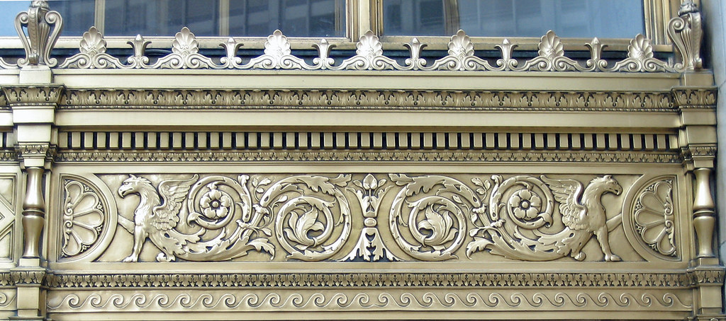 Wrigley Building Ornamentation