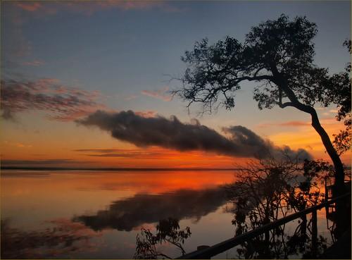 Sunrise - Niger River Amazon