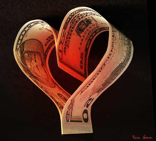 The Love of Money by nomm de photo