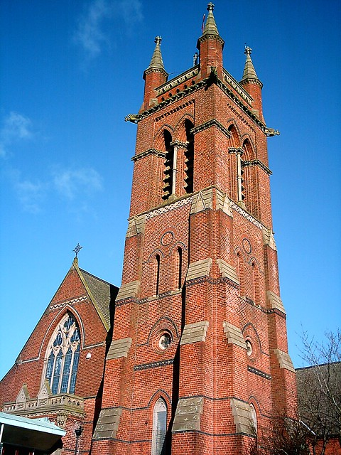 Emmanuel Parish Church, Preston, Lancashire. UK.