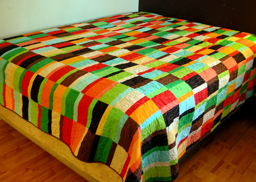 Paletas Quilt - Finished!