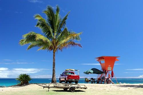 kauai, haena, palm, lifeguard, geotagged, g… IMG_4118